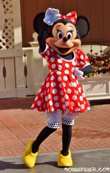 Disneyland Minnie Mouse And Mice