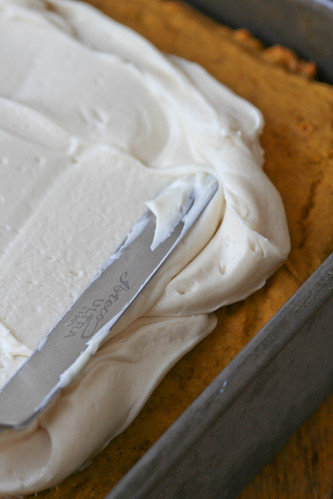 honey-cream cheese frosting