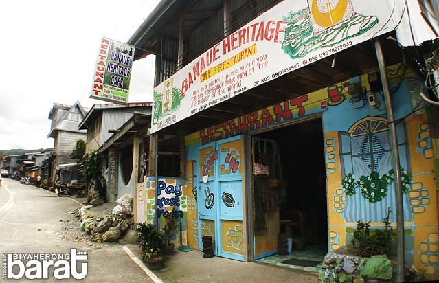 banaue heritage restaurant shops establishments main view poitn