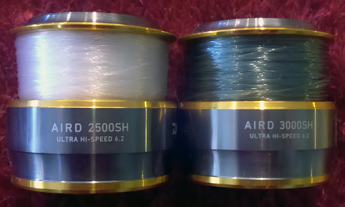 Alternate-Sized Spare ABS Spools