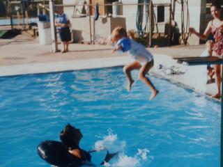 swim lessons at the park forest aqua center 1986