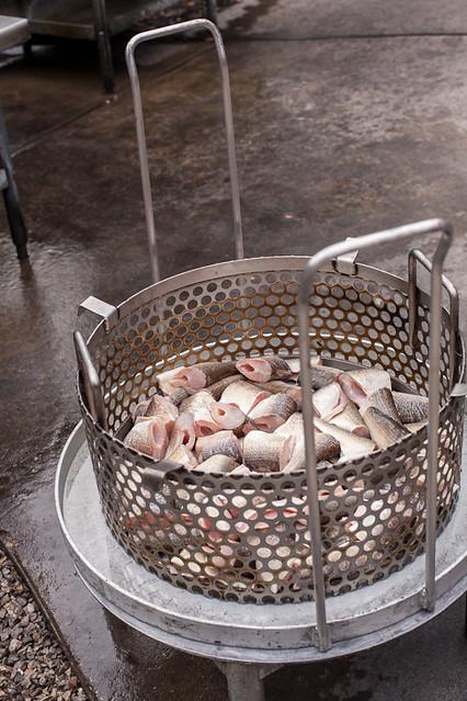 Traditional Fish Boil - Lake Michigan Whitefish