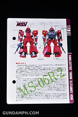 HCM MS-06R-2 Johnny Ridden's Zaku-II (144 scale) 1984 make (14)