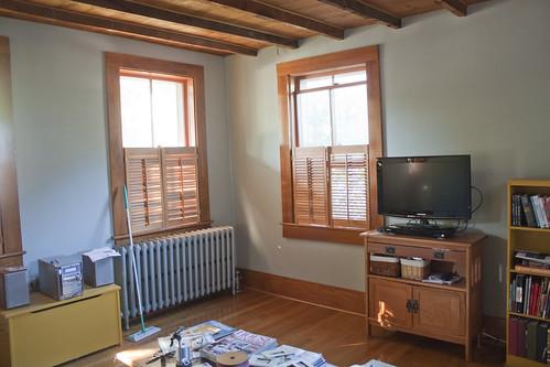 living-room after