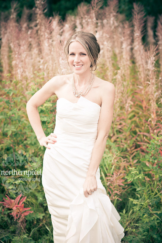 Bridal Portrait - Christine & Nathan's Wedding