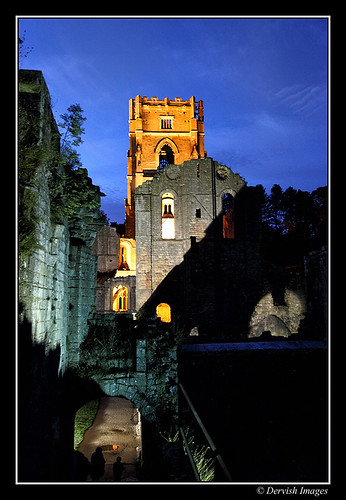 FloodLit Fountains Abbey