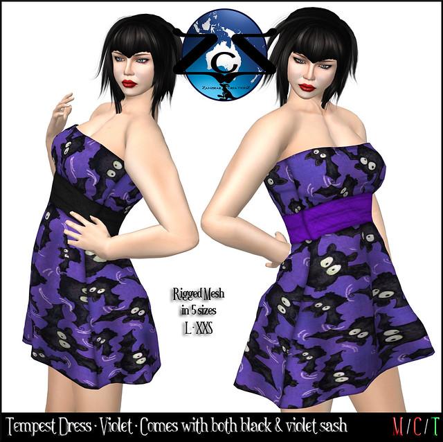 ZcZ Tempest Dress - Violet