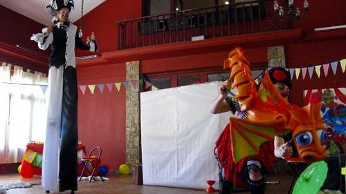 Circo en Cumpleaños