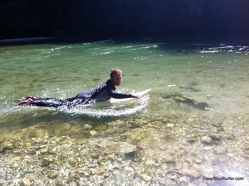 River Paddle Training