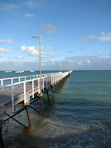 Beachport Jetty by holidaypointau