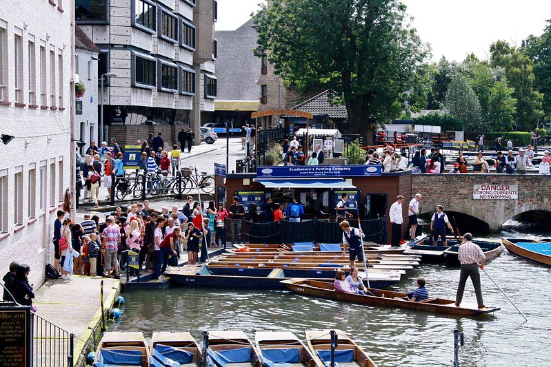 Scudamores Punts, Cambridge
