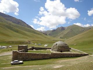 Tash Rabat, Quirguistao