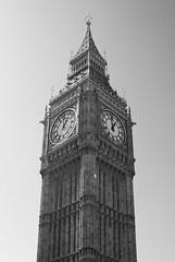 Big Ben (b&w)