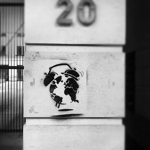 tictac #streetart #brussels #stencil