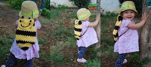 balo hinh con ong