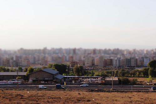 ویو به شهرک کارشناسنان فاز ایکس از روی تپه شهرک نادری by Mehdi Hakimi