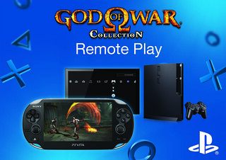 PS Vita Remote Play - God of War Collection