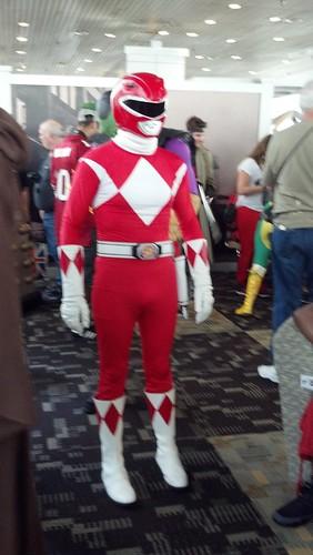 Mighty Morphin Power Ranger at 2012 Baltimore Comic-Con