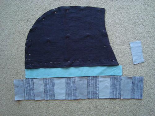 Caligari's coat - constructing the hood