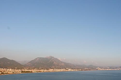Alanya view from balcony