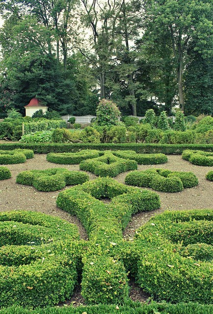 Upper Garden of George Washington's Mount Vernon