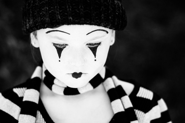 Contemplative Mime