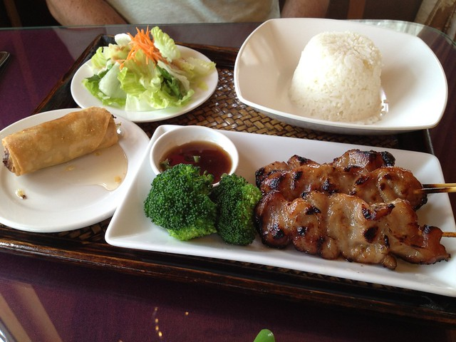 Thai bbq pork - Thai Lotus