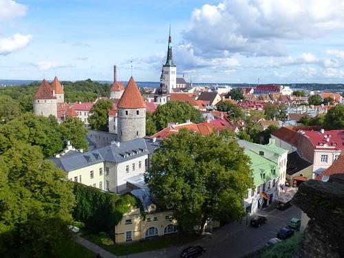 Tallin's old town