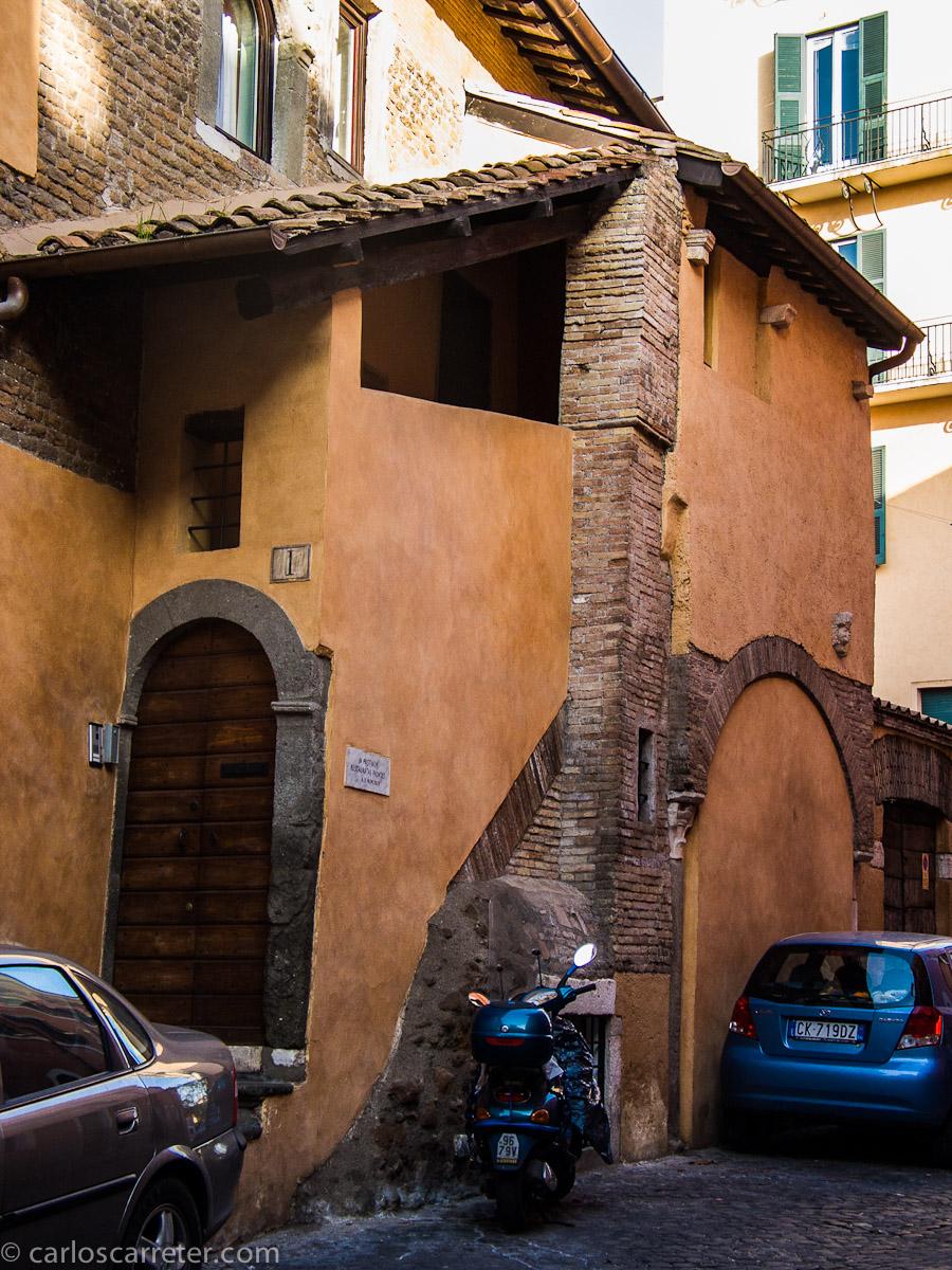 Rincón en el Trastevere