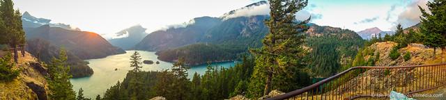 Washington Mountains Panorama