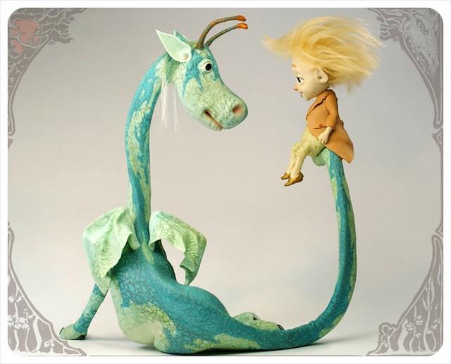 Sit a Spell - Dragon Sculpture