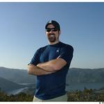 Dave atop Bernardo Mountain