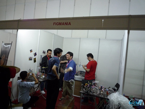 FIGMANIA booth: Day 0