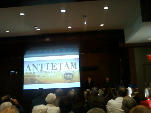 The panel takes the stage. @kclibrary
