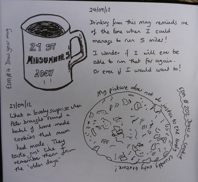 EDM # 4 Draw your mug & # 202 Draw a cookie