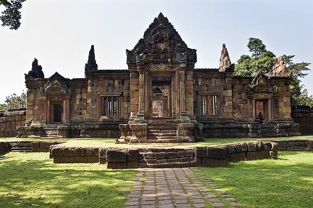 Khmer temple prop de Surin