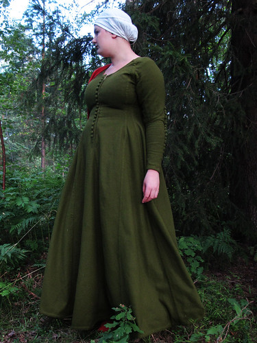 my green cotehardie
