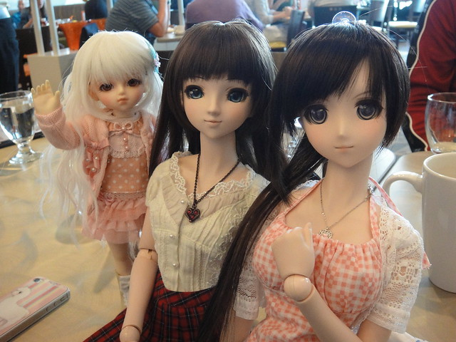 Bluestarbaby's yo-SD Lin, Annalise and Saya