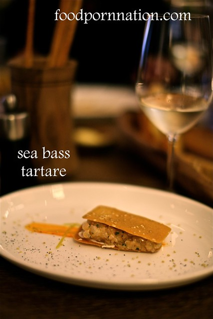 sea bass tartare