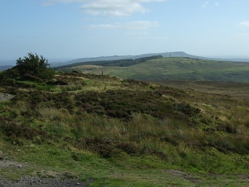 Brown Clee Hill from Abdon Burf