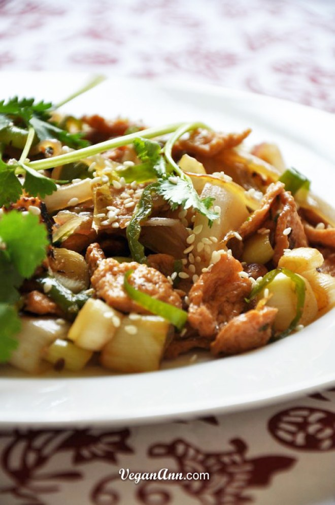 Soy protein with leek and onion3