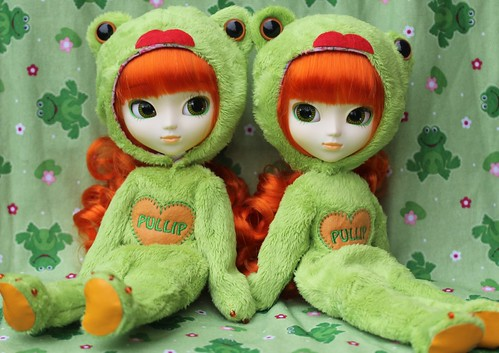 Frogger & Lily P