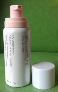 Shu Uemura Tsuya Skin UV Under Base  Youthful Radiance Mousse