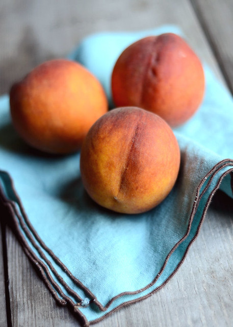 Peaches for Peach Cobbler