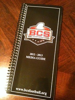 2012-13 BCS Media Guide - from Big East Conference