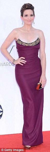 Tina Fey in Viviene Westwood