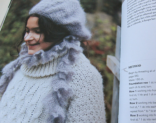Scarf pattern from Simply Crochet