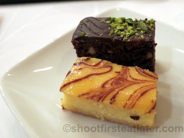 brownie & cheesecake