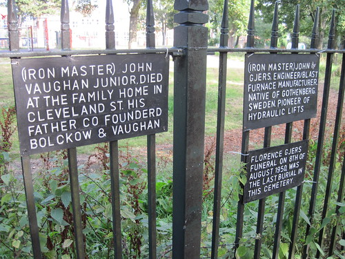 Vaughan and Gjers Graves, Middlesbrough