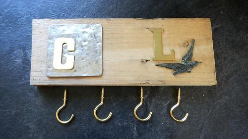 His & Hers Key Hooks